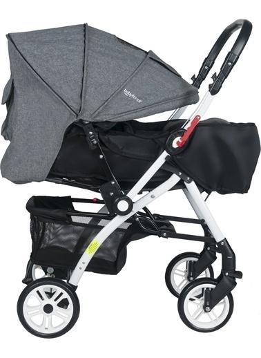 Baby Force Baby Force Secret Çift Yönlü Bebek Arabası Gri Gri